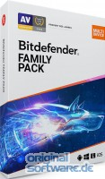 Bitdefender Family Pack 2018 | bis 20 Geräte | 3 Jahre