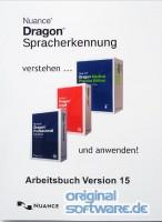 Arbeitsbuch für Dragon Versionen 14 - 15 und Dragon Medical Practice 3