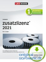 2 User Zusatzlizenz für Lexware 2021 Pro/Premium Versionen   365 Tage Version   Download