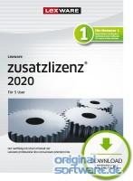 5 User Zusatzlizenz für Lexware 2020 Pro/Premium Versionen | Abonnement | Download