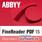 ABBYY FineReader 15 Standard | Vollversion | inkl. Backup DVD