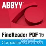 ABBYY FineReader PDF 15 Corporate   Download Version   Upgrade