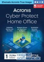 Acronis Cyber Protect Home Office Essentials | 1 PC/MAC | 1 Jahr Abonnement