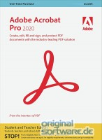 Adobe Acrobat Pro 2020 | MAC | Download | Mehrsprachig | Student & Teacher