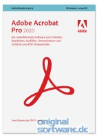 Adobe Acrobat Pro 2020 | Mehrsprachig | MAC | Download Vollversion
