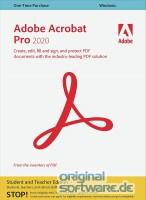 Adobe Acrobat Pro 2020 | Windows | Download | Mehrsprachig | Student & Teacher