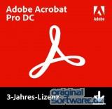 Adobe Acrobat Pro DC   Mehrsprachig   Laufzeit 3 Jahre