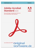 Adobe Acrobat Standard 2020 | Mehrsprachig | Windows | Download Vollversion