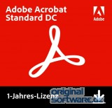 Adobe Acrobat Standard DC | Mehrsprachig | Laufzeit 1 Jahr