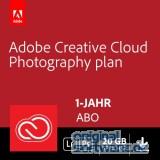 Adobe Creative Cloud Foto-Abo 20 GB | Laufzeit 1 Jahr