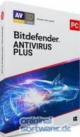 Bitdefender Antivirus Plus 2021 | 10 Geräte | 3 Jahre | Download