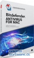 Bitdefender Antivirus for MAC 2021 | 3 Geräte | 3 Jahre