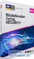 Bitdefender Total Security Multi-Device 2020 | 5 Geräte | 3 Jahre