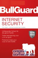 BullGuard Internet Security 2019 | 5 Geräte | 1 Jahr