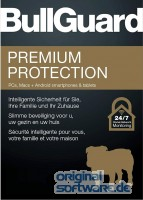 BullGuard Premium Protection 2018   5 Geräte   1 Jahr