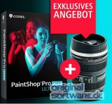 Corel PaintShop Pro 2019 Ultimate | DVD Version | Deutsch | + Corel Objektiv Tasse | Abverkauf