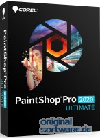 Corel PaintShop Pro 2020 Ultimate | DVD Version | Deutsch