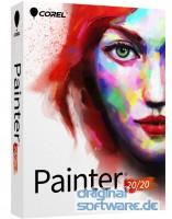 Corel Painter 2020 | Mehrsprachig | Upgrade | DVD Box