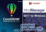 CorelDRAW Graphics Suite 2021 + MindManager 2017 | Download | Schulen/Institutionen | Windows