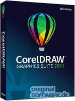 CorelDRAW Graphics Suite 2021   Windows   Dauerlizenz   Deutsch   Slim Case