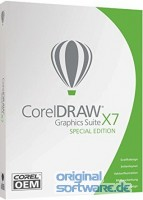 CorelDRAW Graphics Suite X7 Special Edition | DVD OEM Version