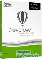 CorelDRAW Graphics Suite X8 Special Edition | DVD OEM Version