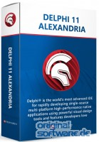 Delphi 11 Alexandria Enterprise   unbefristete Lizenz   New User + 1 Jahr Wartung