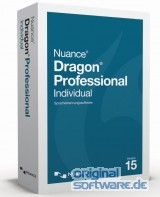 Dragon Pro Individual 15 | DVD | Upgrade von Professional 12|13 oder 14