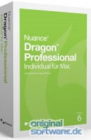 Dragon Professional Individual für Mac v6 Wireless| DVD | Deutsch