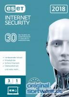 ESET Internet Security 2018 | 3 Geräte | 1 Jahr