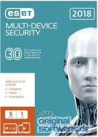 ESET Multi Device Security 2018 | 5 Geräte | 1 Jahr