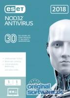 ESET NOD32 Antivirus 2018 | 1 Gerät | 1 Jahr