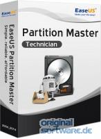 EaseUS Partition Master Technician Edition 13.5 + Lebenslang kostenlose Upgrades | DVD Version