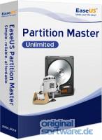 EaseUS Partition Master Unlimited 13.0  Download + Lebenslange Updates