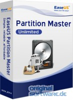 EaseUS Partition Master Unlimited 13.5 + Lebenslang kostenlose Upgrades | Download