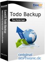 EaseUS Todo Backup Technician 11.0 | 1 Jahr Lizenz | CD Version