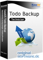 EaseUS Todo Backup Technician 11.5 | 2 Jahre Lizenz | CD Version