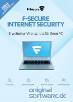 F-Secure Internet Security | 3 PCs | 1 Jahr