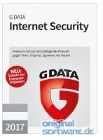 G DATA INTERNET SECURITY 2017 | 3 PCs 1 Jahr Download