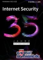 G DATA Internet Security 2020 | 5 Geräte | 1 Jahr Schutz | Download