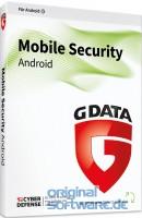 G DATA Mobile Security für Android   4 Geräte 1 Jahr   Download