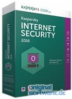 Kaspersky Internet Security 2016 / 3 PCs / 1 Jahr / Download / Verl�ngerung