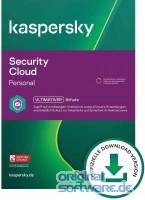 Kaspersky Security Cloud 2021 Personal | 5 Geräte | 1 Jahr Schutz