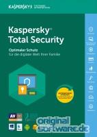 Kaspersky Total Security 2017 / 3 Ger�te / 1 Jahr / Verl�ngerung