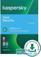 Kaspersky Total Security 2021 | 1 Gerät | 1 Jahr | Upgrade