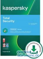 Kaspersky Total Security 2021 | 1 Gerät | 2 Jahre | Upgrade