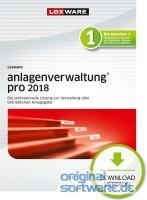 Lexware Anlagenverwaltung Pro 2018 | 365 Tage Laufzeit | Download