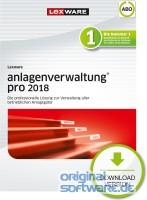 Lexware Anlagenverwaltung Pro 2018 | Abo-Vertrag | Download