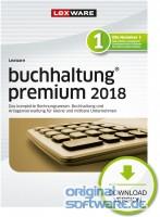 Lexware Buchhaltung Premium 2018 | 365 Tage Laufzeit | Download