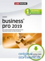 Lexware Business Pro 2019   Abonnement   Download